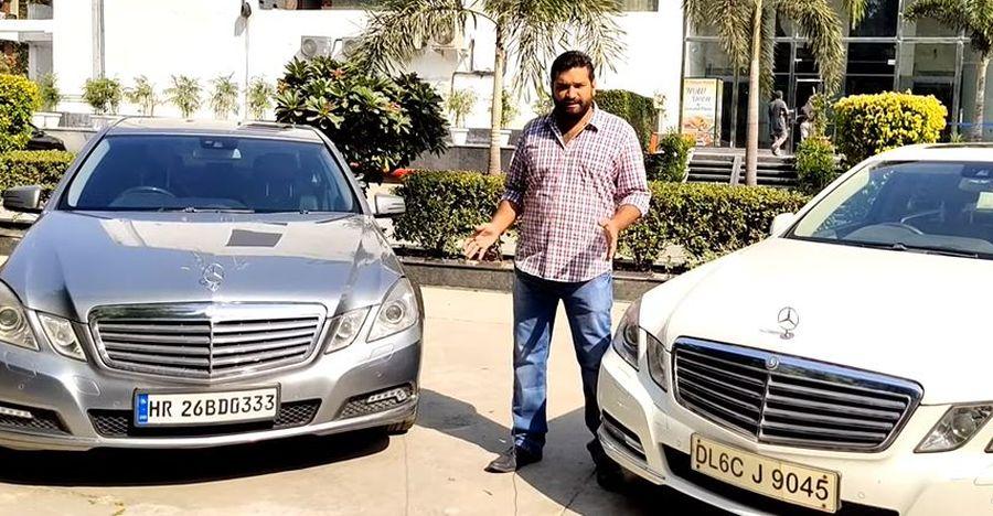Used Mercedes Benz E-Class लग्जरी सेडान की बिक्री 10 लाख रु से निचे [वीडियो]