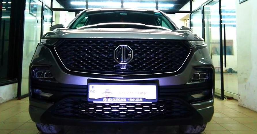MG Hector SUV को 'क्रोम डिलीट' के साथ सुचारू रूप से संशोधित किया गया