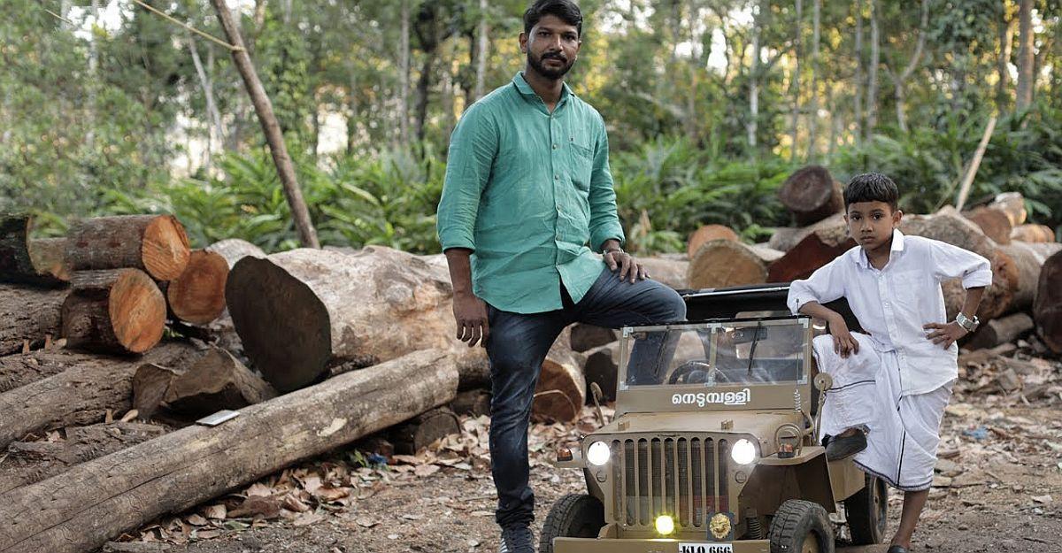 केरल में एक आदमी ने पूरी तरह से अपने बच्चों के लिए विली की इलेक्ट्रिक Jeep बनाया: Anand Mahindra बहुत प्रभावित हुए [वीडियो]