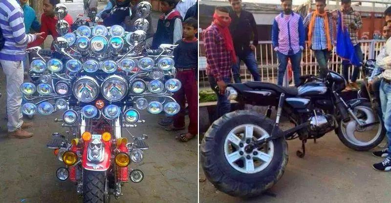 मोटरसाइकिल के Accessories जो फायदे से अधिक नुकसान पहुंचाते हैं