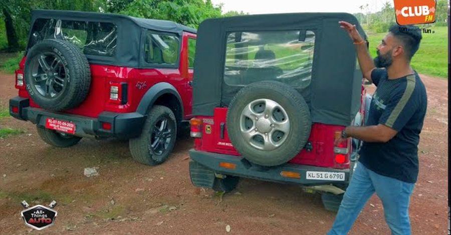 पुराना Mahindra बनाम नया Mahindra Thar: क्या बदल गया है [वीडियो]