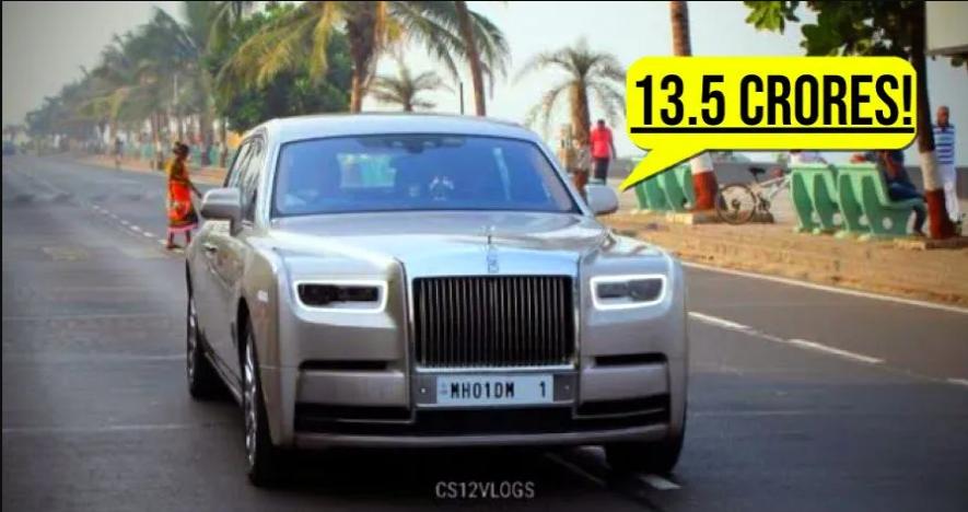 यह Rolls Royce Ambani के गैरेज में सबसे महंगी कार है [Video]
