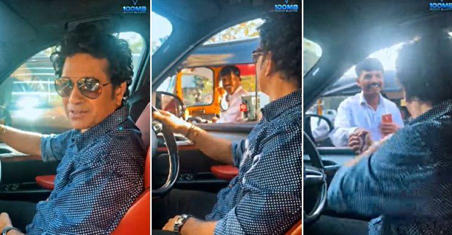 BMW X5M में Sachin Tendulkar अपना रास्ता खो देते है: ऑटो चालक उसे सही सड़क पर ले जाता है