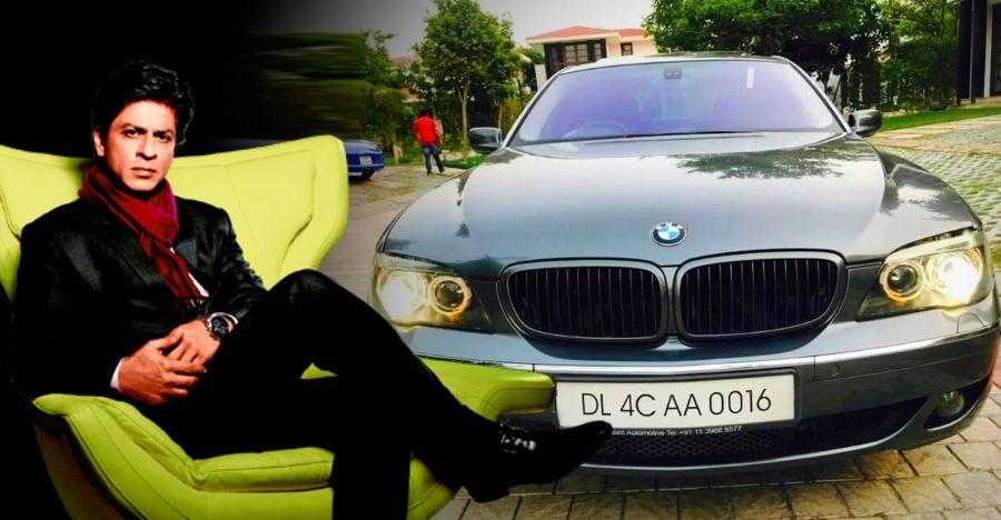 Shahrukh Khan के पास 2 करोड़ रुपये की BMW 7-Series लग्जरी Saloon है, जो सिर्फ 12.5 लाख रु में बिक्री के लिए है