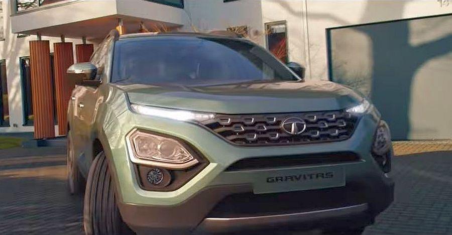 आगामी Tata Gravitas 6 TV SUV का TVC