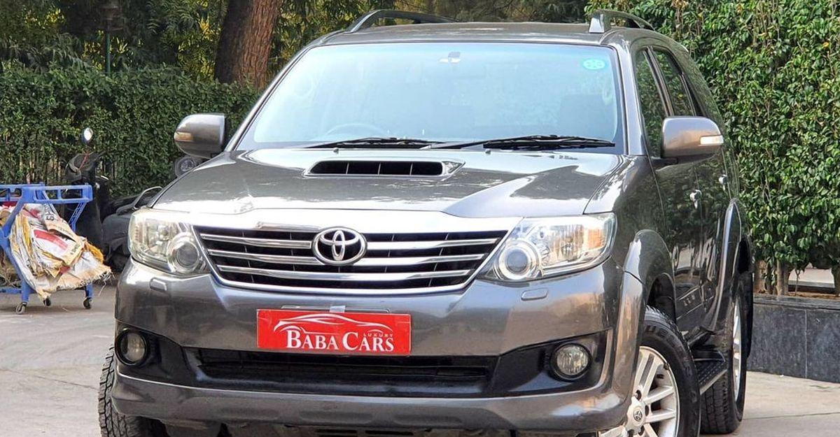 3 Used, Luxurious डीजल स्वचालित 7 सीट एसयूवी 5 लाख से शुरू