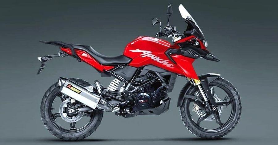 TVS Apache RR 310-based एडवेंचर बाइक भारत के लिए: यह कैसा दिख सकता है