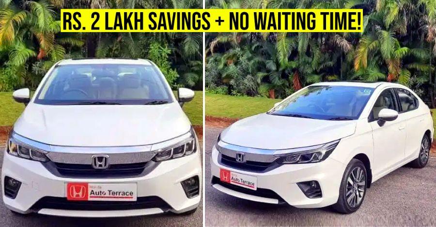 बिलकुल नई 5वीं पीड़ी की Honda City सेडान भारत में कार बाजार को हिट करती है