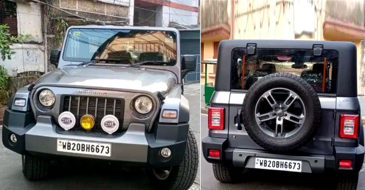 सेकेंड हैंड कार बाजार में बिक्री के लिए लगभग-नई 2020 Mahindra Thar 4X4 SUVs