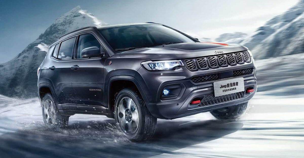 2021 Jeep Compass फेसलिफ्ट जनवरी में लॉन्च करने के लिए