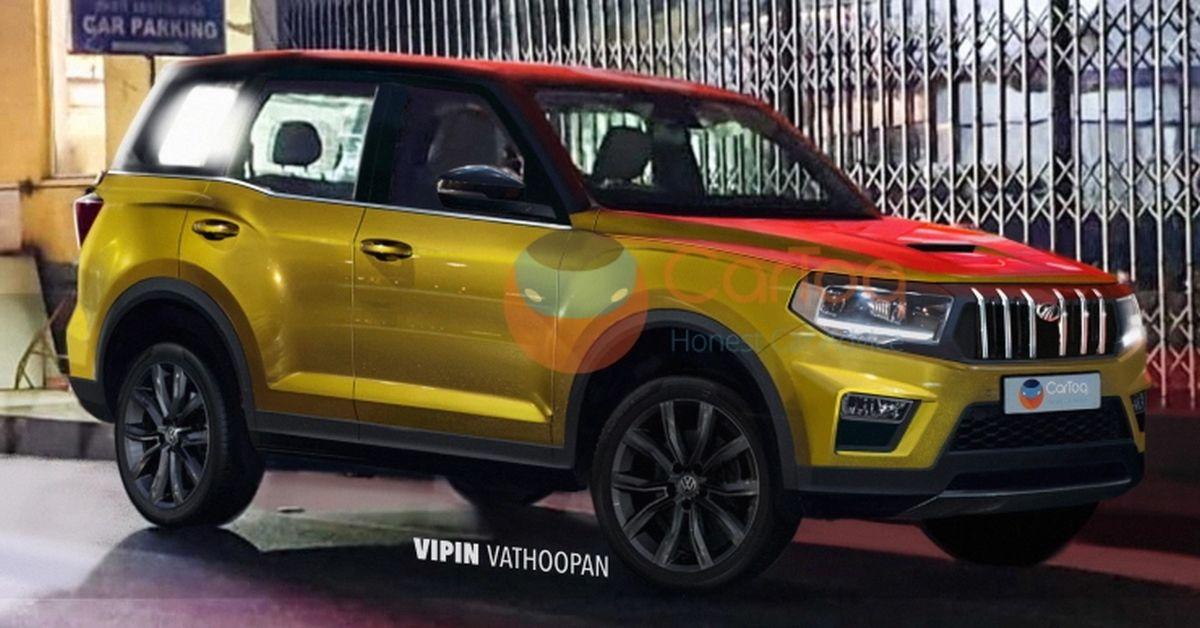 2021 के मध्य में लॉन्च होने वाली All-new Mahindra Scorpio SUV