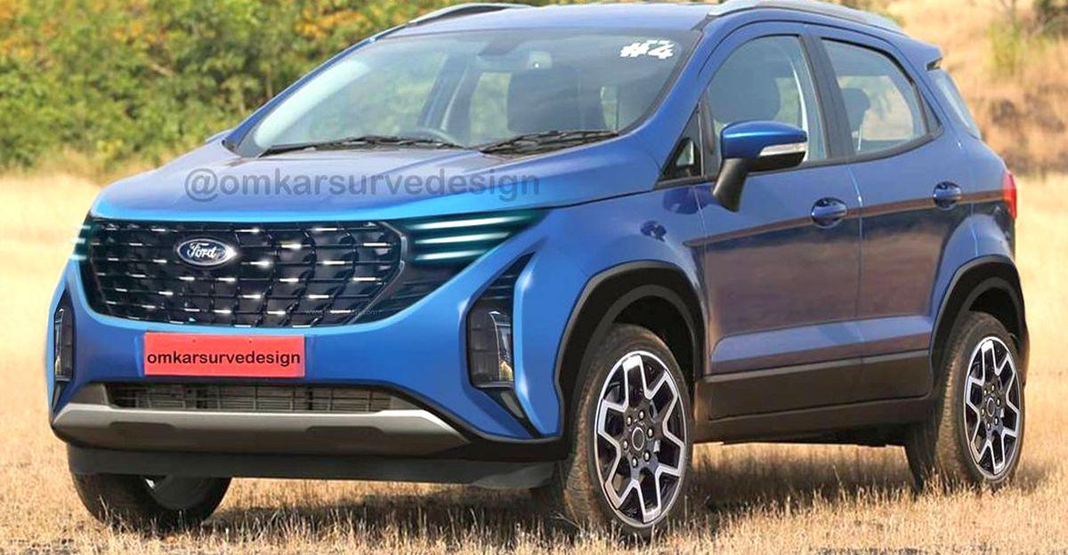 भारत-बाध्य 2022 Ecosport Ford की नई डिजाइन भाषा के साथ प्रस्तुत हुई