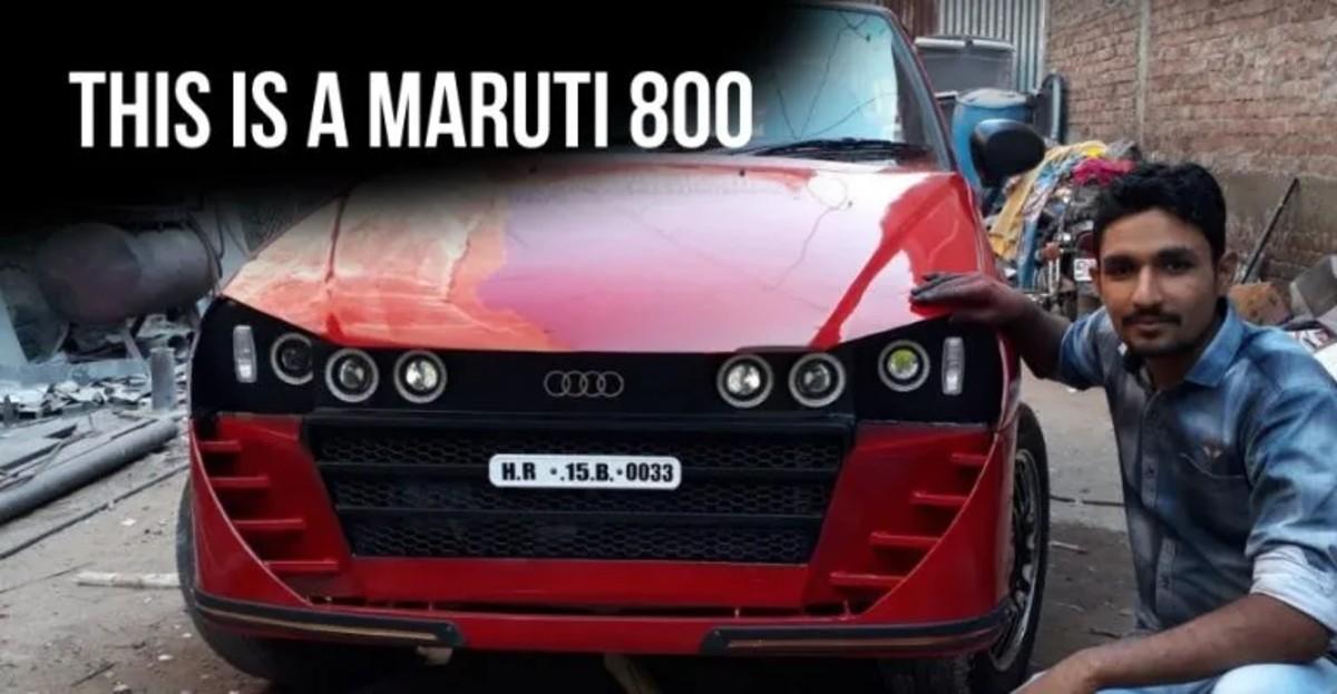 Maruti 800 कारें जो एक परिवर्तन से होकर गईं!