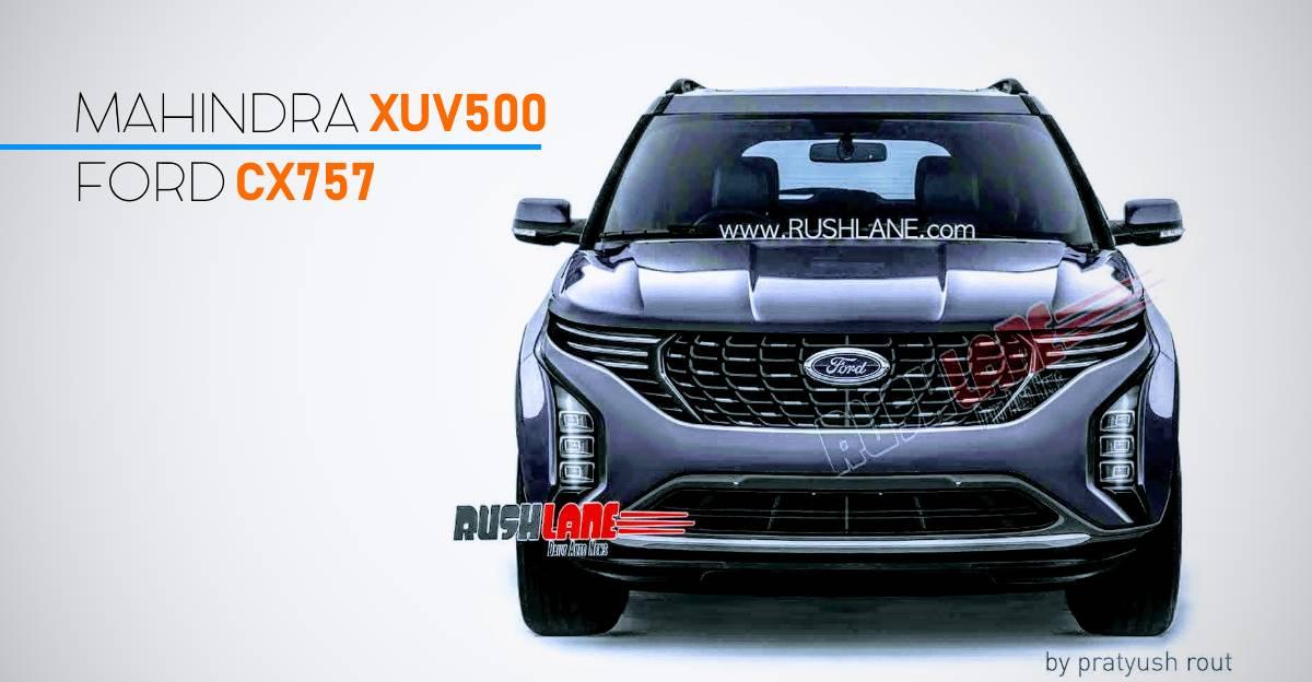 Ford की XUV500 पर आधारित SUV कुछ इस तरह दिखेगी