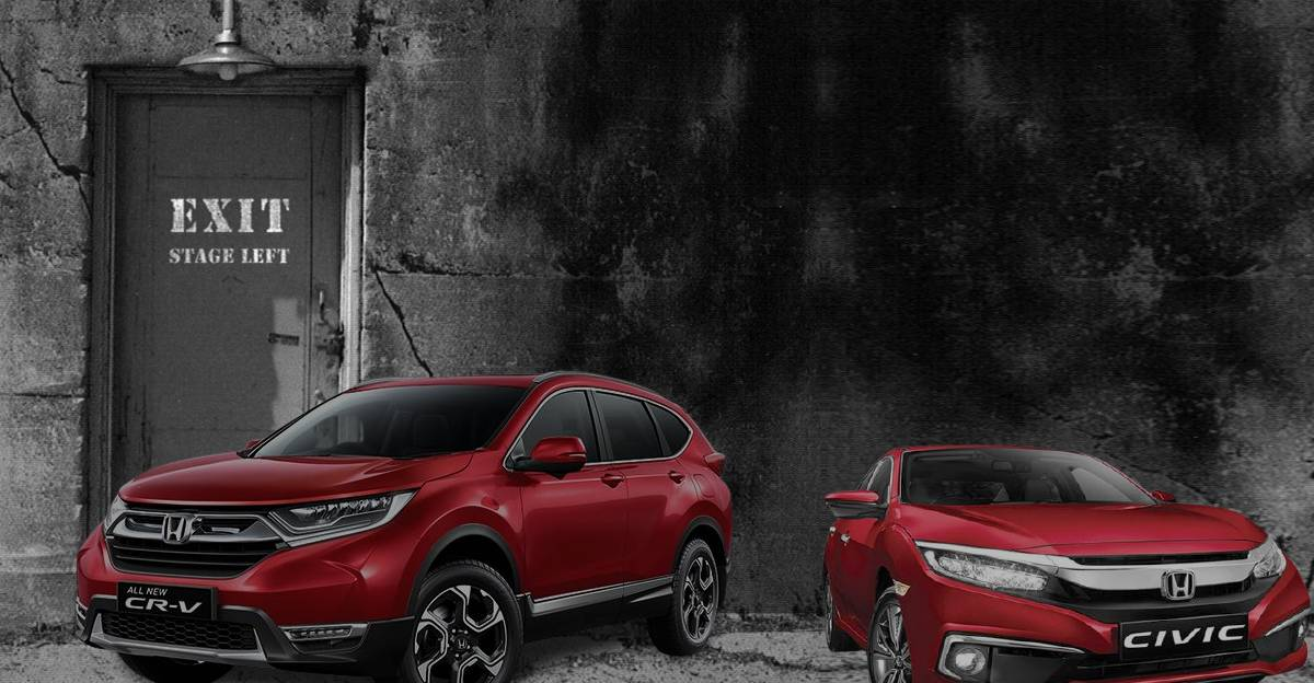 Honda ने City के नीचे कार सेगमेंट पर ध्यान केंद्रित करने के लिए Civic और CR-V को भारत में बंद कर दिया