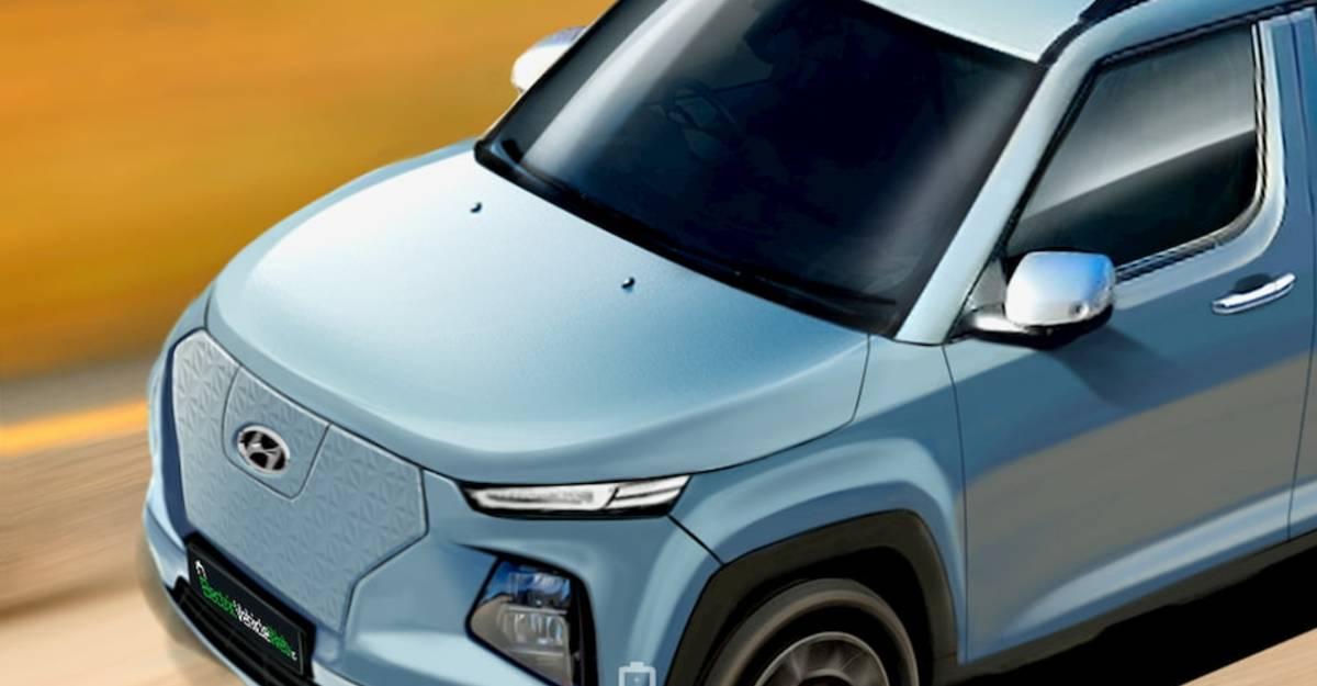 इलेक्ट्रिक वाहन के रूप में लॉन्च करने के लिए Hyundai की माइक्रो SUV AX1