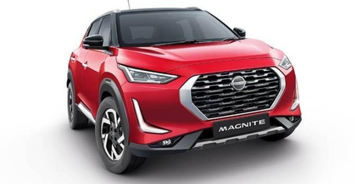 आधिकारिक तौर पर सूचीबद्ध Nissan Magnite कॉम्पैक्ट SUV सामान
