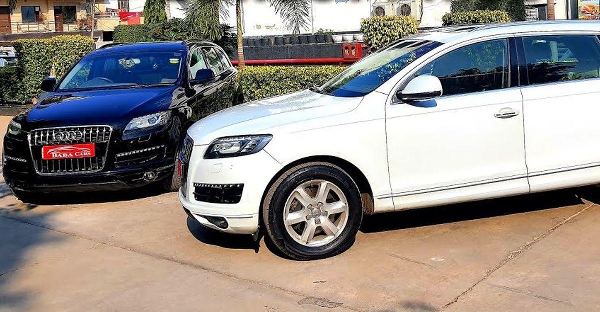 7-Seat Used Audi लग्जरी एसयूवी बिक्री के लिए , 8.75 लाख से शुरू