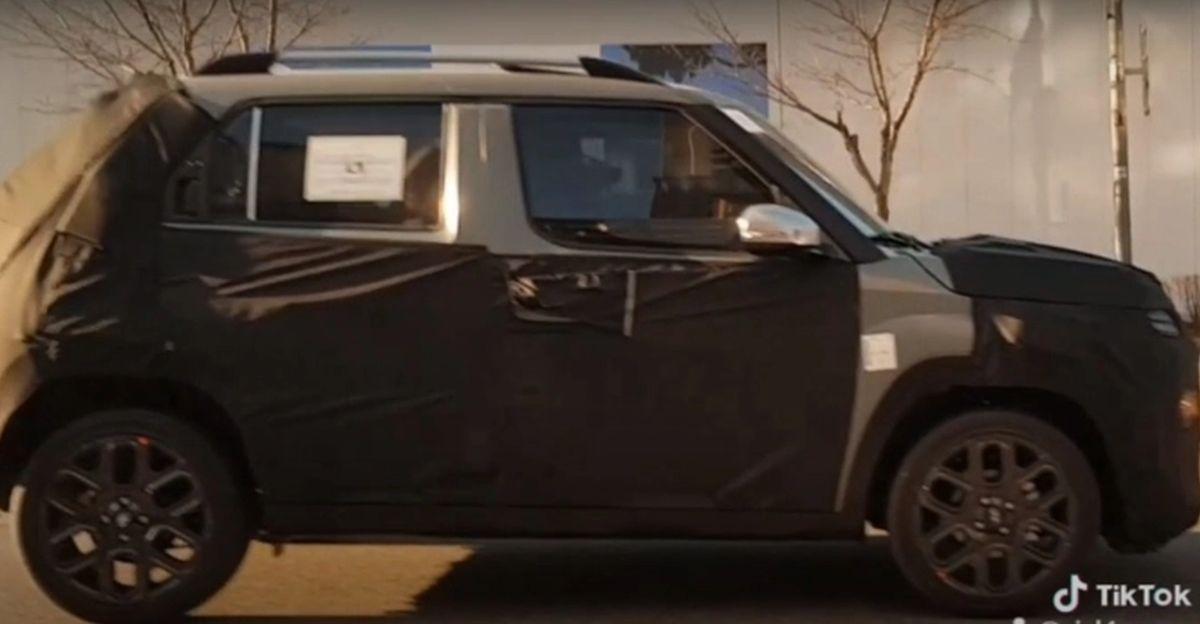 Hyundai की Maruti S-Presso rival फिर से कैमरा में कैद