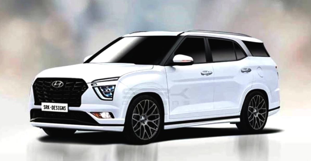 7-सीट Hyundai Creta कॉम्पैक्ट एसयूवी 2021 की दूसरी छमाही में लॉन्च हो रही है