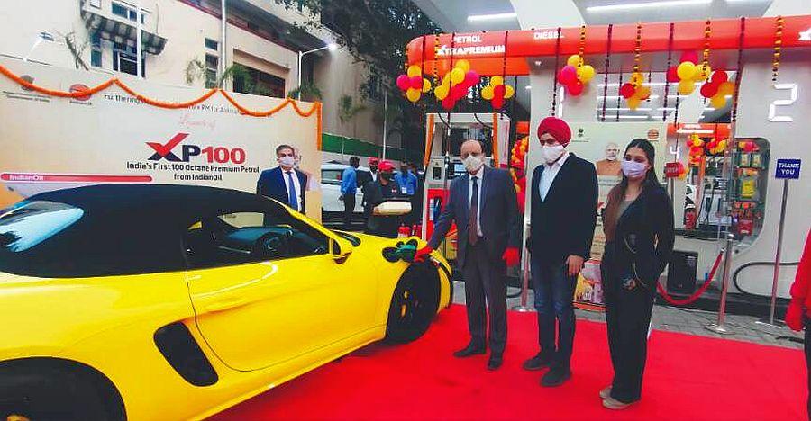 Indian Oil कॉरपोरेशन ने 100 ऑक्टेन पेट्रोल की बिक्री शुरू की जिसकी कीमत 160 रु./ लीटर