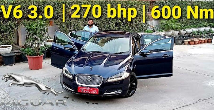 सुपरचार्ज्ड Jaguar XF-S 270 Bhp के साथ Honda City की तुलना में सस्ता है