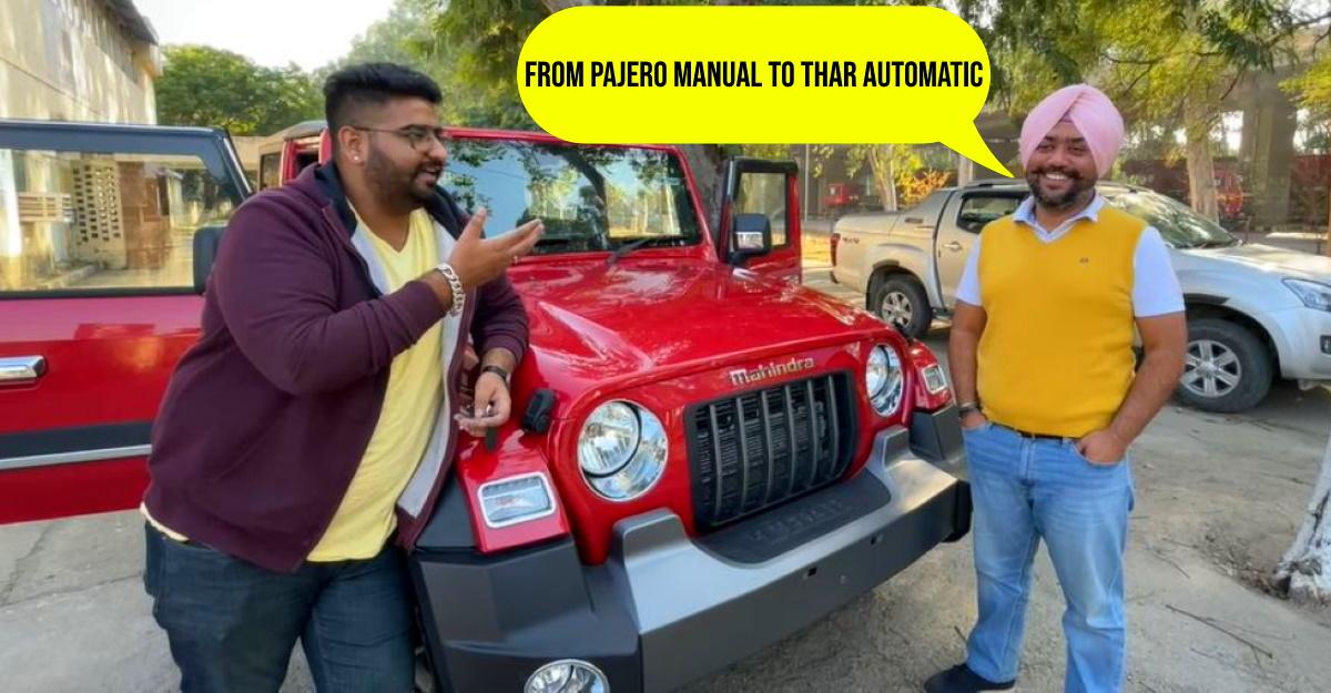 Pajero मालिक 3500 किलोमीटर ड्राइविंग के बाद अपने नए Mahindra Thar की समीक्षा करता है