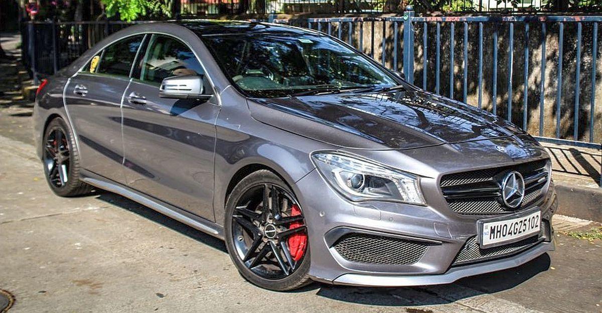 Fortuner से सस्ती कीमत पर 450 Bhp Mercedes CLA 45 AMG स्पोर्ट्सकार