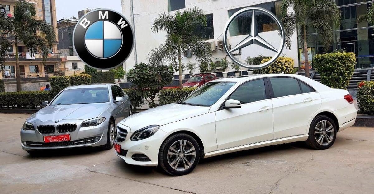 अच्छी तरह से रखा Used Audi, BMW & Mercedes लक्जरी सेडान 10 लाख से शुरू