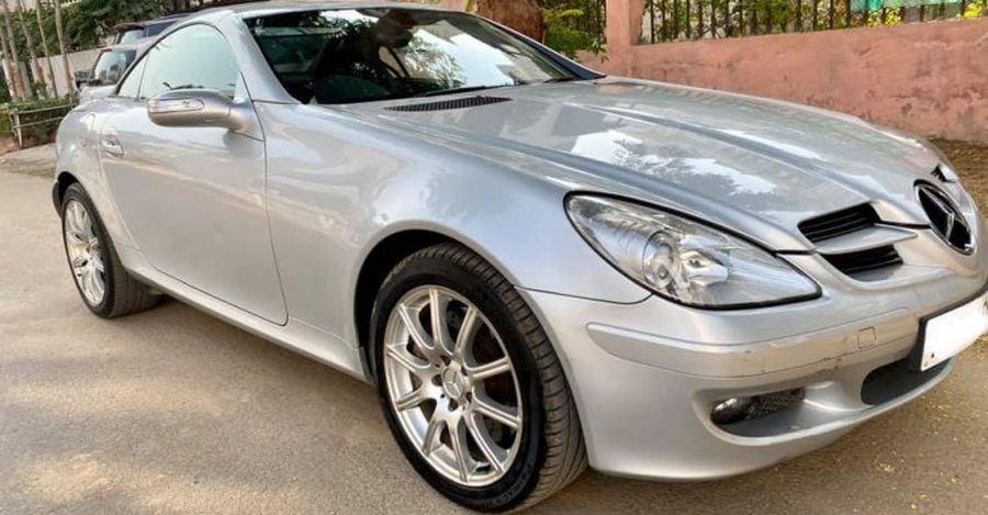 Pre-Owned Mercedes-Benz SLK 350 Convertible 20 लाख से कम की बिक्री के लिए
