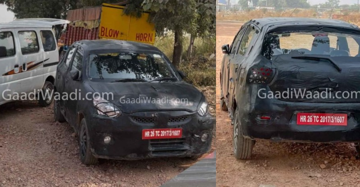 Next-gen Maruti Celerio ने भारत में फिर से परीक्षण किया