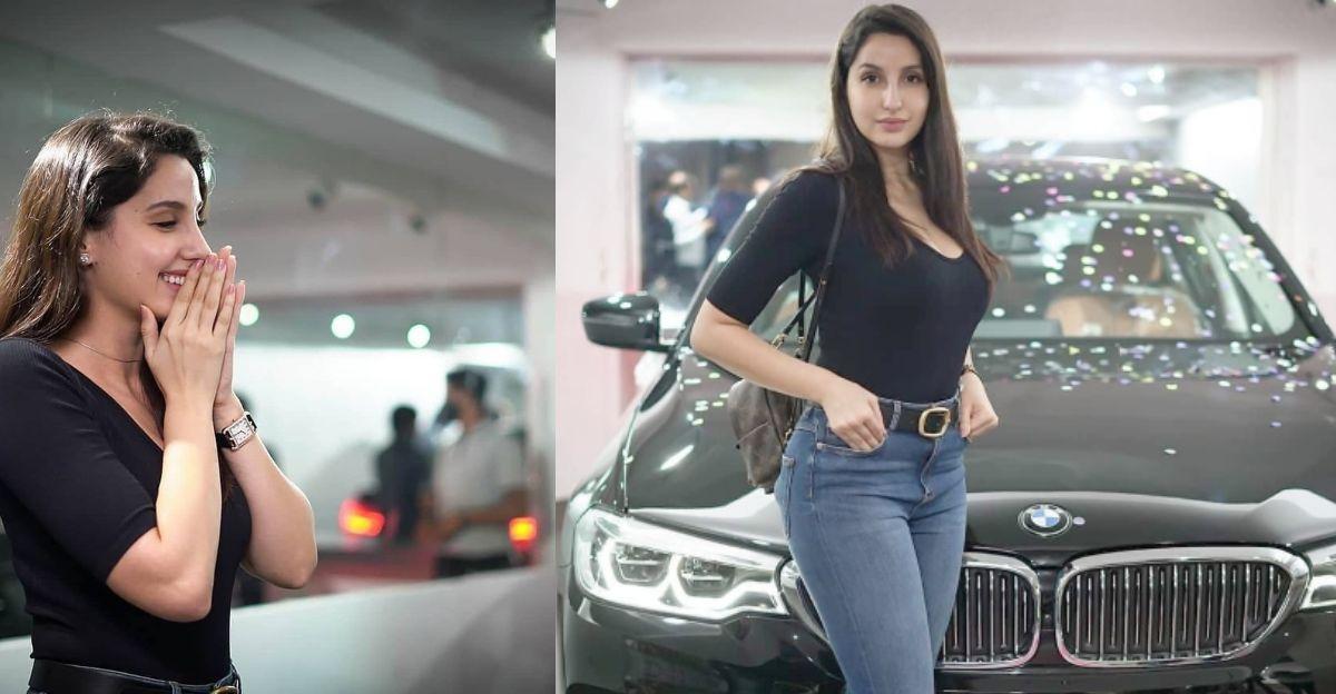 Bollywood अभिनेत्री Nora Fatehi एक नई BMW 5-सीरीज़ लग्जरी सेडान खरीदी