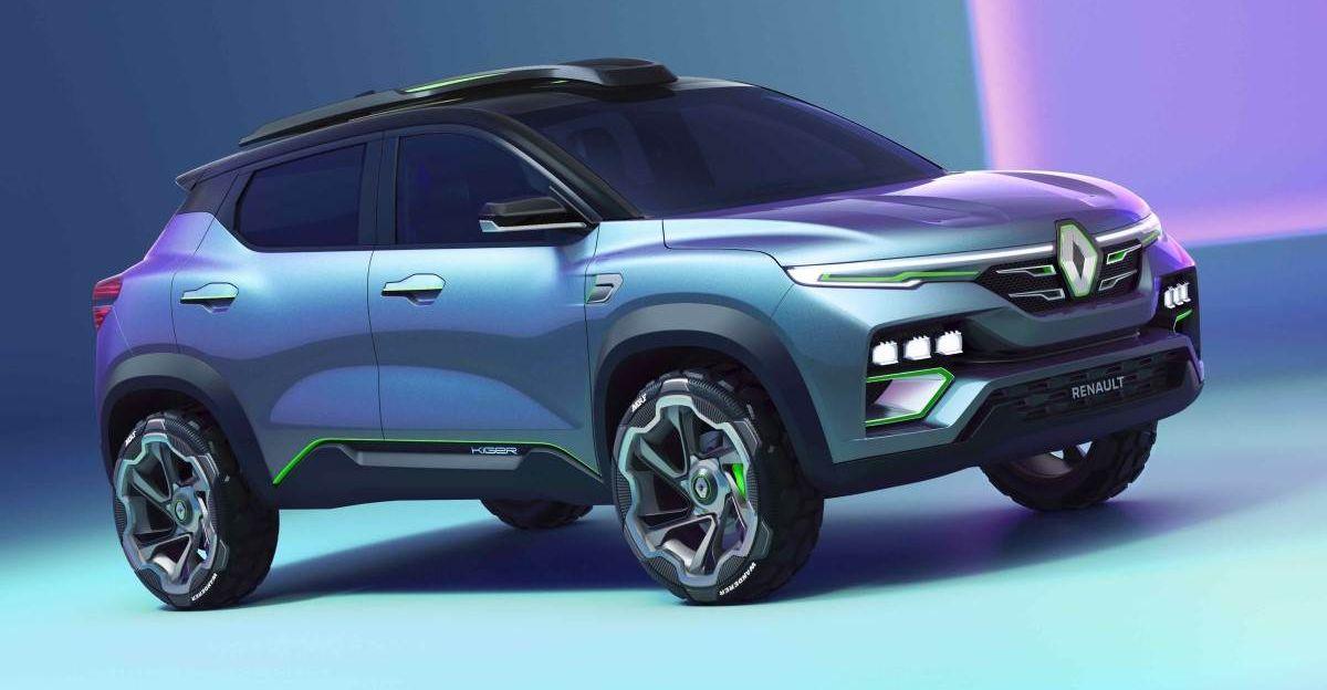 2021 की शुरुआत में Renault Kiger कॉम्पैक्ट SUV का प्रोडक्शन वर्जन सामने आया