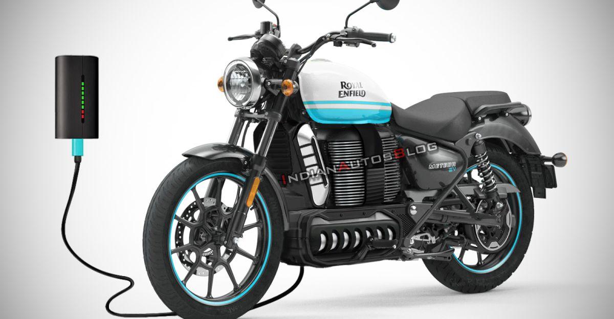Royal Enfield Meteor Electric मोटरसाइकिल प्रस्तुत की गई