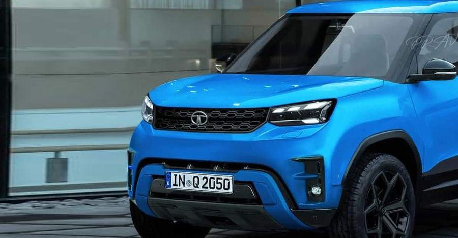 Tata Sierra SUV के उत्पादन संस्करण का प्रतिपादन किया
