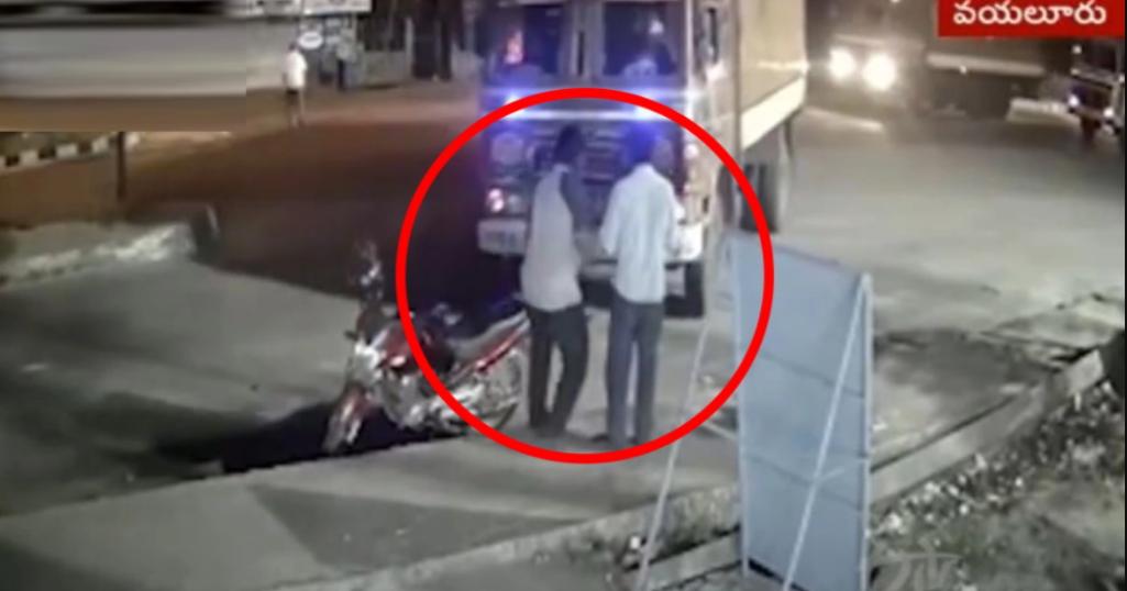 ट्रक के ब्रेक फेल होने के बाद दो युवाओं के पास से निकली