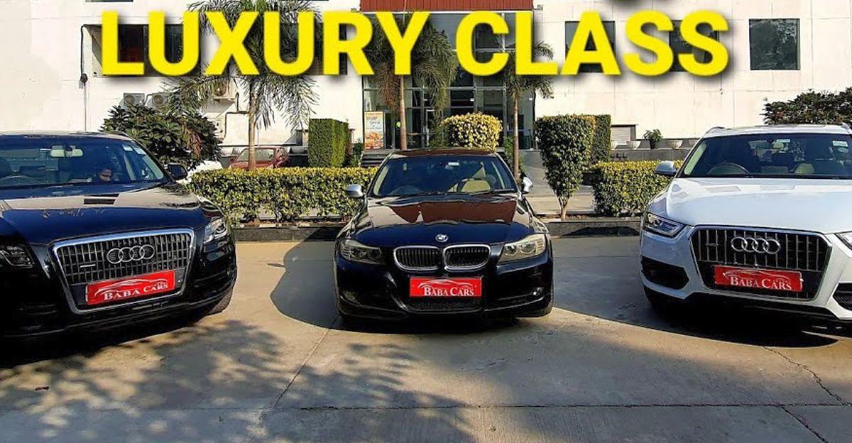 Pre-Owned Audi & BMW लग्जरी कारें 8.95 लाख रुपये से शुरू