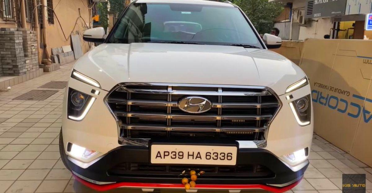 All-new Hyundai Creta E trim टॉप-एंड trim जैसा दिखने के लिए संशोधित किया गया है