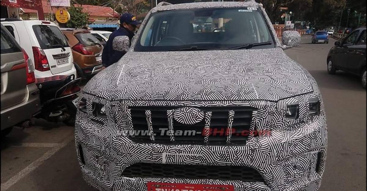 All new 2021 Mahindra Scorpio उत्पादन में,  करीब से SPIED