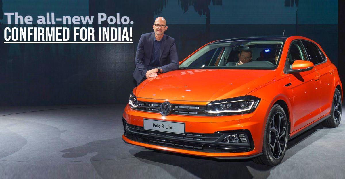 Volkswagen इस साल भारत में All New Polo हैचबैक लॉन्च करने वाली है
