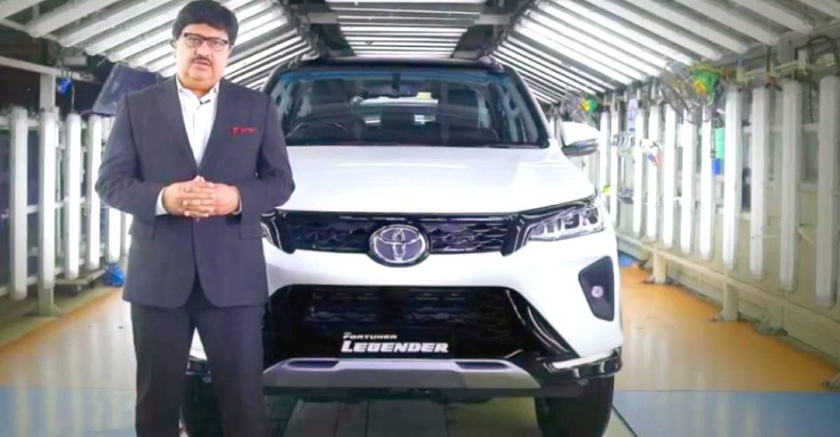 Toyota ने भारत में 2021 Fortuner लॉन्च किया; अधिक महंगा