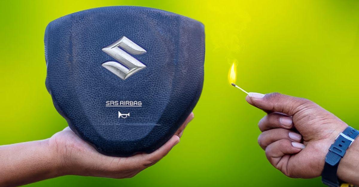 Airbag की विस्फोटक शक्ति बताती है कि हर किसी को सीटबेल्ट क्यों पहनना चाहिए [Video]