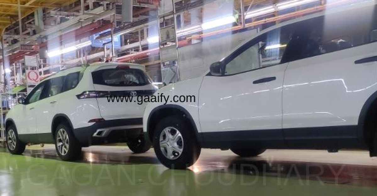 All new Tata Safari Surface की और Spied Pics