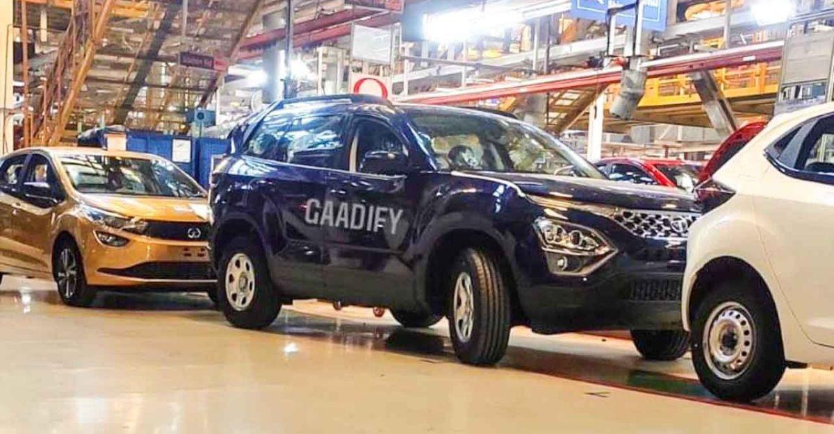 26 जनवरी 2021 के लॉन्च से पहले all-new Tata Safari एसयूवी का उत्पादन शुरू