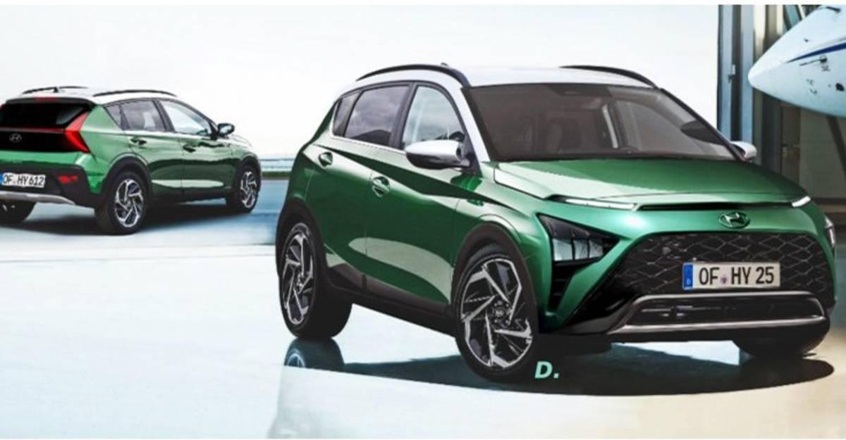 Bayon क्रॉसओवर रेंडर: Hyundai i20- आधारित क्रॉसओवर कैसा दिखेगा