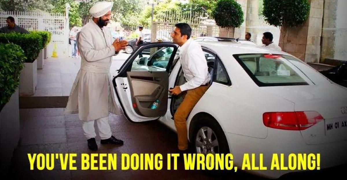 आप कार का दरवाजा सही ढंग से नहीं खोल रहे हैं [वीडियो]