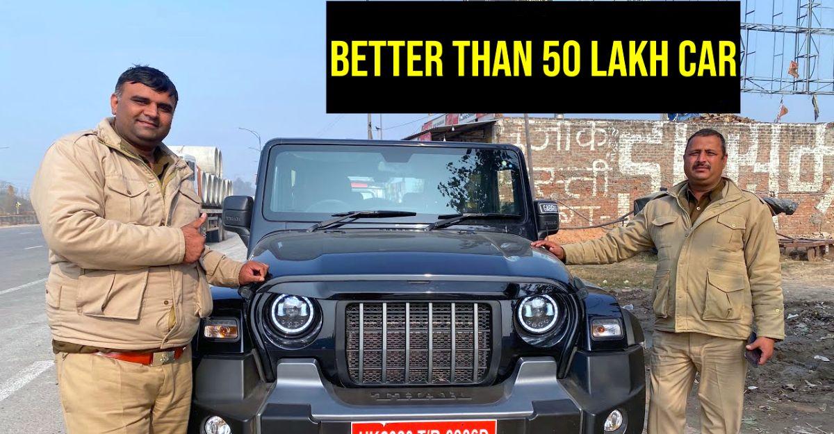 Cops All new Mahindra Thar के बारे में क्या सोचते हैं