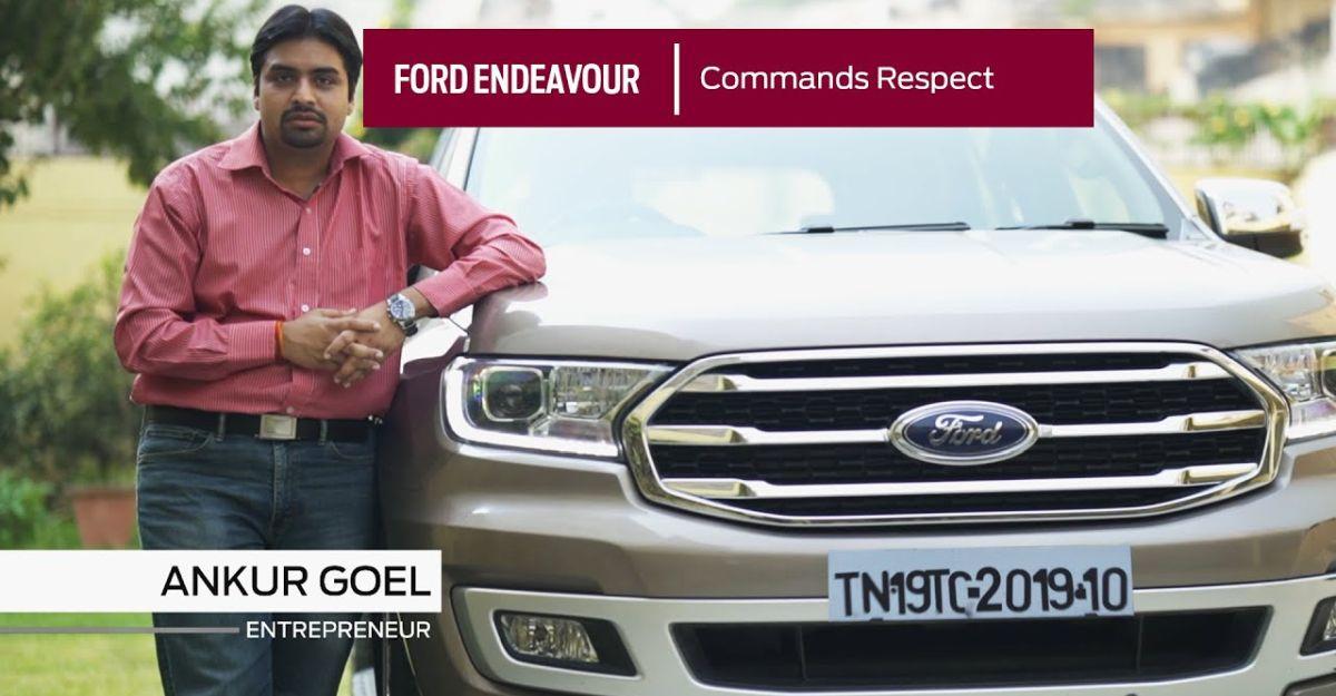 Ford Endeavour के मालिक ने बताया कि उन्होंने यह SUV को दूसरी लग्जरी SUV के मुकाबले क्यों चुना
