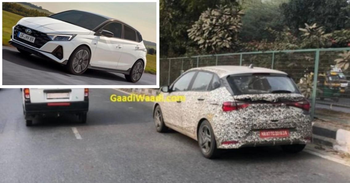 अधिक शक्तिशाली Hyundai i20 N Line को भारत में परीक्षण किया गया