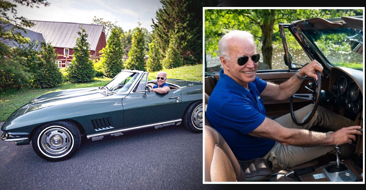 अमेरिकी राष्ट्रपति Joe Biden एक कार Enthusiast हैं